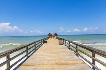 The Naples Pier is a Must See For All Naples Visitors; Only a 15 Minute Walk from Condo!