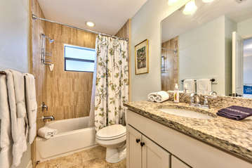 Bathroom with shower;
