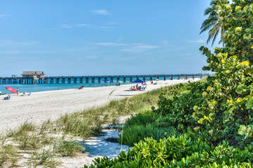 View of Naples Pier; Just a short walk from unit;