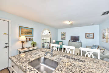 Fully Stocked Kitchen with Luxury Appliances; Granite Counter-tops!