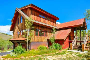 Award Winning Custom Colorado Barnwood Luxury Mountain Home With Amazing Views