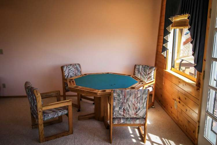 Game Table on Third Level