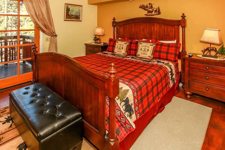 Master Bedroom- Upper Level- Private MB/Balcony