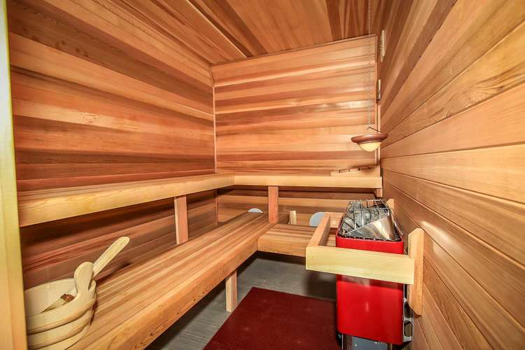 Private Sauna Located Downstairs