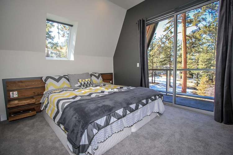 Bedroom 2: Master Suite- King Bed, TV, Private Bath, Private Balcony