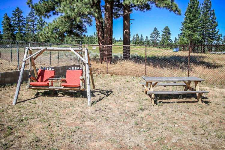 Swing and Picnic Bench