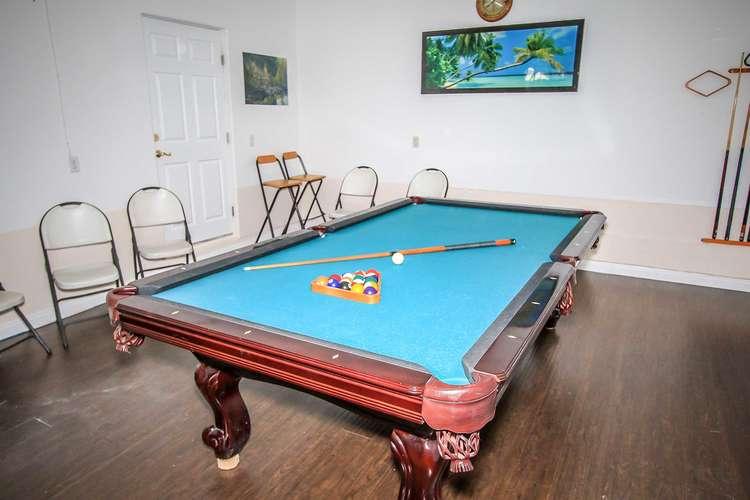 Garage Game Room Pool Table