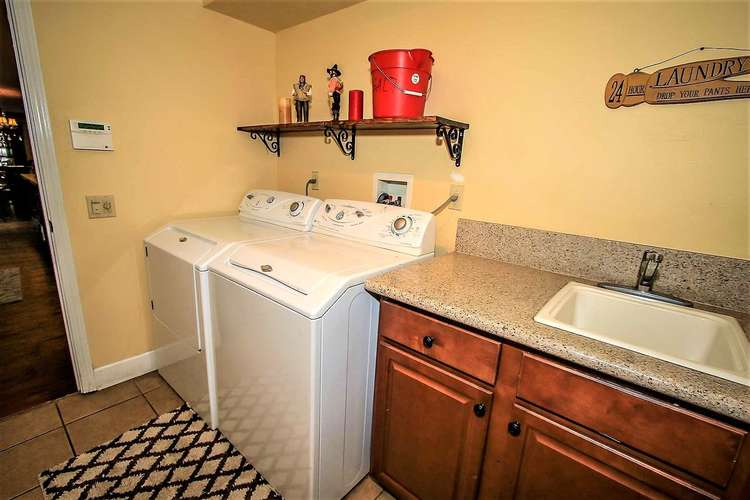 Laundry Room Off Kitchen- Entry level