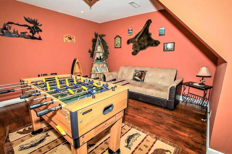 2nd Level Game Room