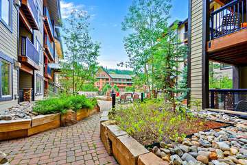 Walk out Plaza access, exclusive to only a handful of condos