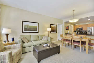 Spacious Living room and Dining area