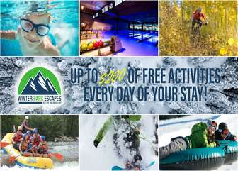 Up to $200 a day of FREE activities at some of the most popular attractions in the area.