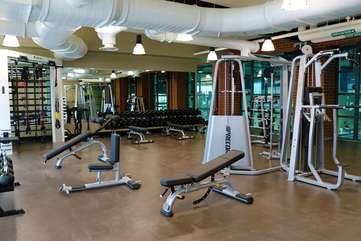 Rec Center gym