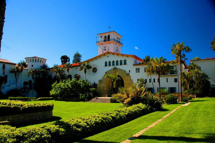 Visit the historic Santa Barbara Courthouse