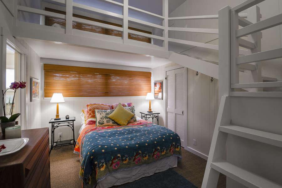 Bedroom #2 w/queen (loft not accessible)