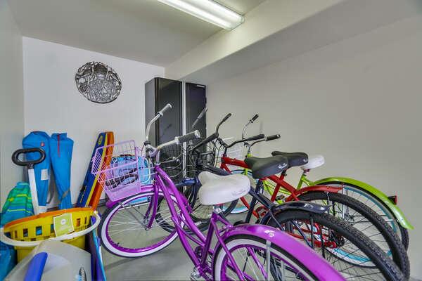 Bikes and Beach Gear