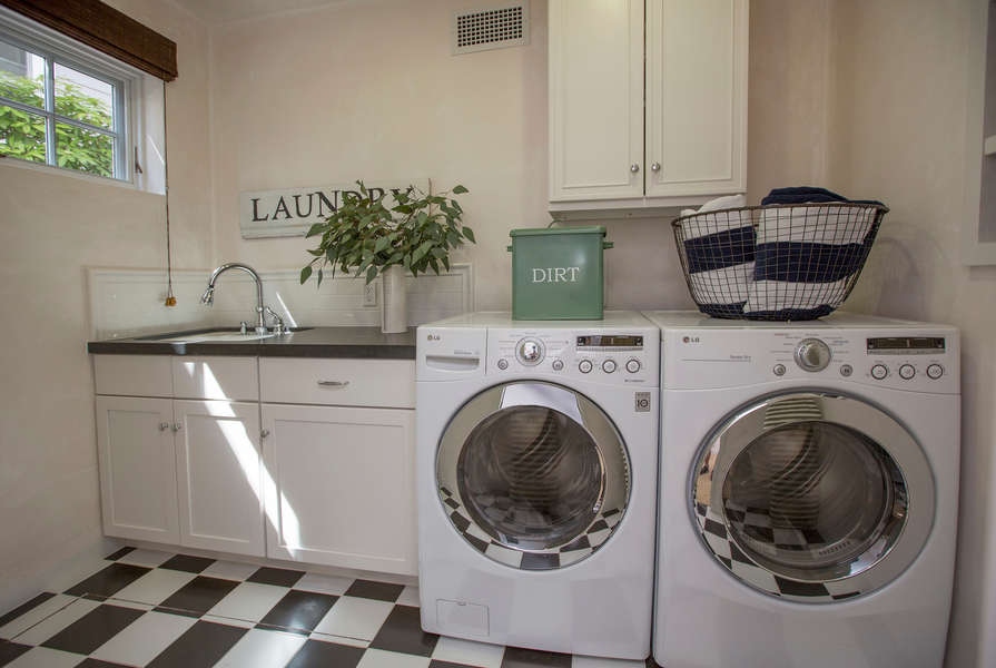 Downstairs Laundry Room
