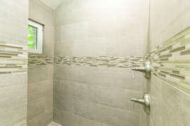 Walk in Master Shower