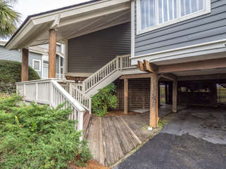 Multi level home with private entrance