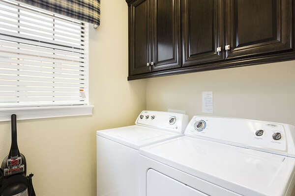 Full seized washer and dryer