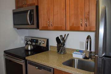 Newly remodeled kitchen