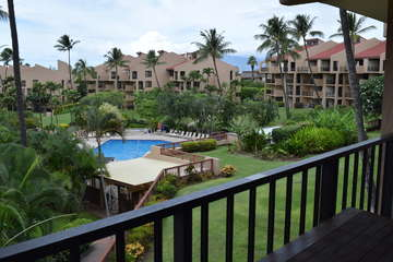 Incredible tropical view from your lanai