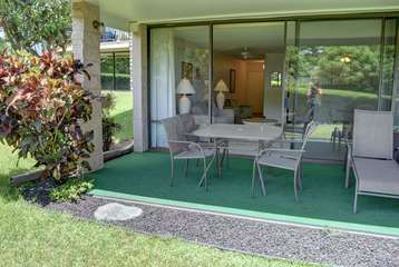 Large ground floor lanai