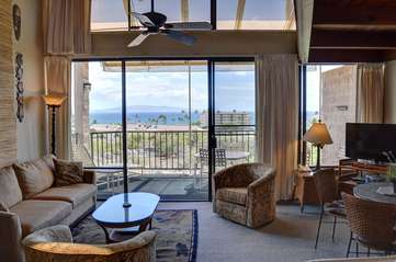 Expansive ocean views from this condo