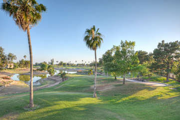 Views of Superstition Lakes Golf course, a popular public course