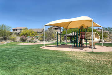 Nearby community parks have something for everyone