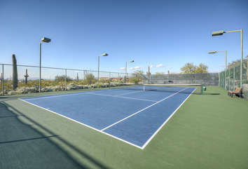 Community tennis courts, heated pool and spa are just a few of the appreciable neighborhood features