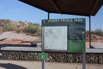 Another park with a variety of trails to hike or bike
