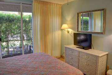 View of bedroom and lanai