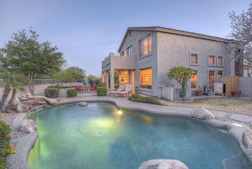Your own private oasis to enjoy year round in the sunny and warm southwest