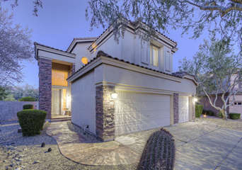 Beautiful NE Mesa home in gated community with exciting upgrades and amenities awaits your arrival!