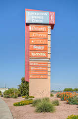 The red mountain freeway makes shopping quick and easy
