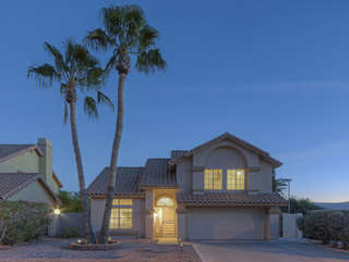 Spectacular 3 BR, 2.5 bath, 2 story home with 2 car garage is a delightful get-away for a family or couples