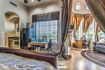 Absolutely perfect accommodations for 1 or 2 with everything you need to be comfortable