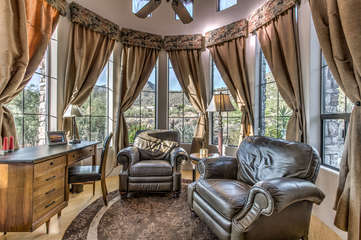 Professionally decorated, casita exudes charm and ambiance from top to bottom