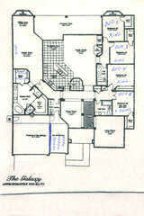 To help you plan for an exciting and rewarding vacation, a floor plan of our 5 BR, 3 BA, one story home is provided