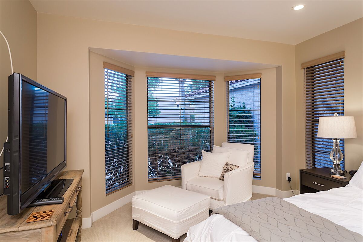Sitting area with Natural light in master