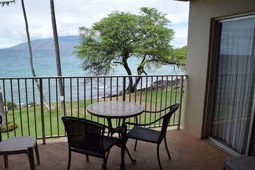 Lanai opens to the living room and master bedroom
