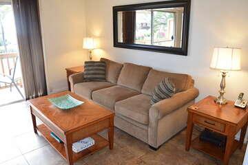 Comfortable living room sofa