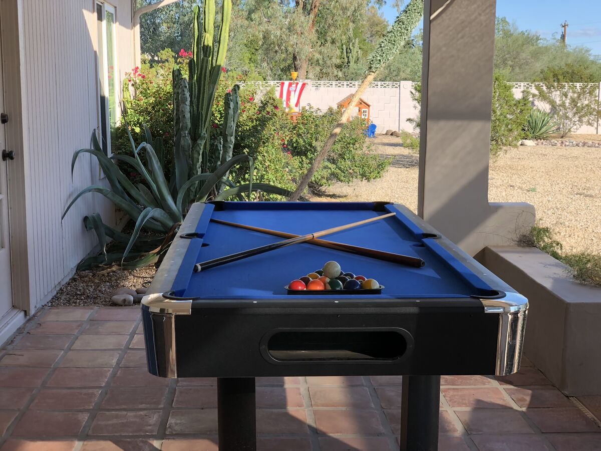 Convertible Billiard Table & Ping Pong Table - Dart Board - Looking Towards Kids Zone