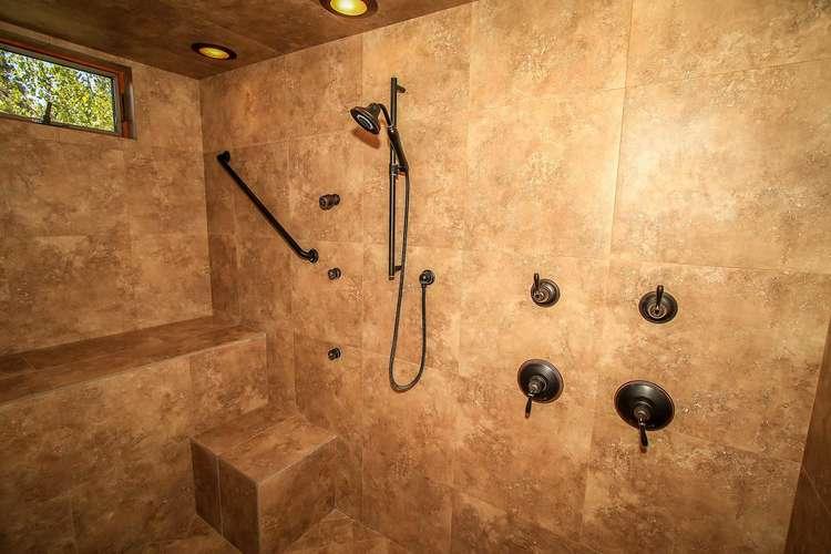 Bedroom 1- Huge Walk In Shower