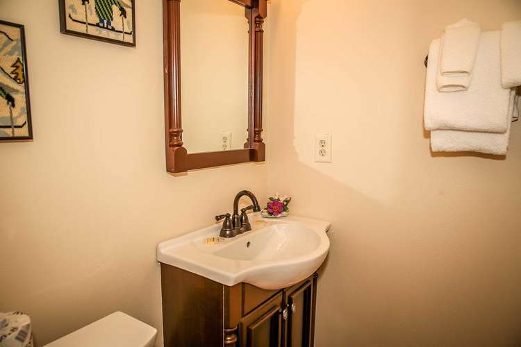Downstairs shared hall bathroom
