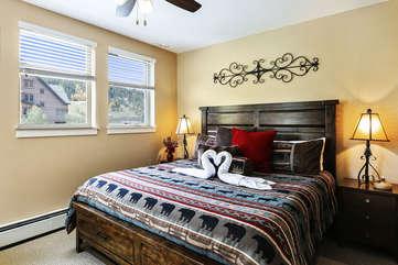 Fantastic master bedroom