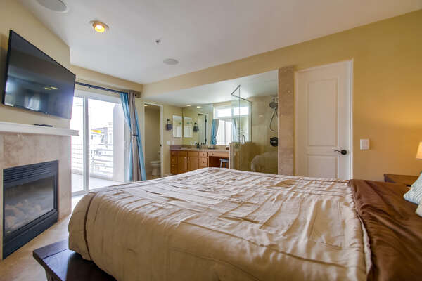 Queen Bedroom with private patio
