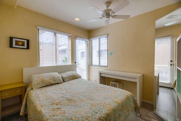 Guest Bedroom #1 - Queen Bed- 2nd Floor  Bed