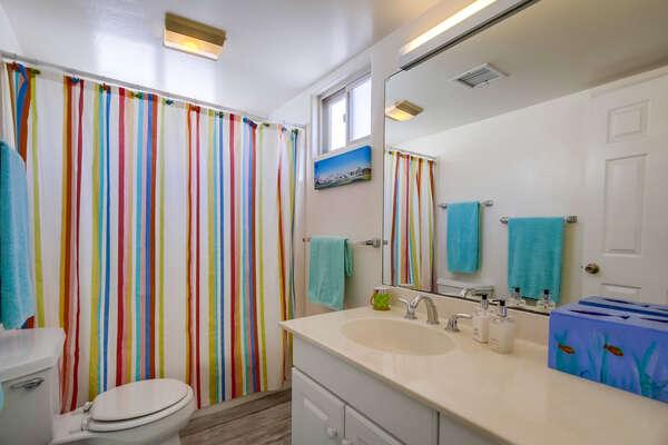 Guest Bathroom #1 - Second Floor